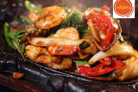 Rakonto Bar and Grill - Grand Feast Mixed Grill Platter with Tea or Coffee for Two People - Save 63%
