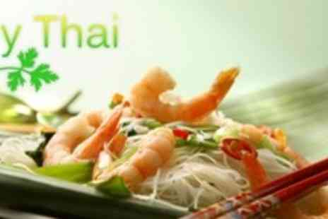 My Thai - Two Course Thai Meal For Two With Side Dishes - Save 62%