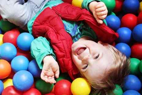 crazy town Ellesmere Port - Soft Play Entry and Meal  - Save 63%