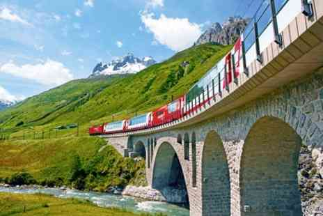 Railtour - Two Night Rail Tour With Hotel Stay, Train Transfers and Breakfast in Switzerland - Save 50%