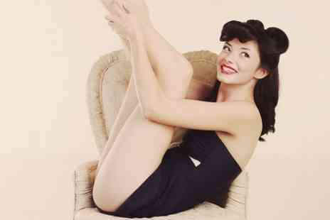 Dumbletons Photography - 1950s Pin Up Makeover Photoshoot  - Save 50%