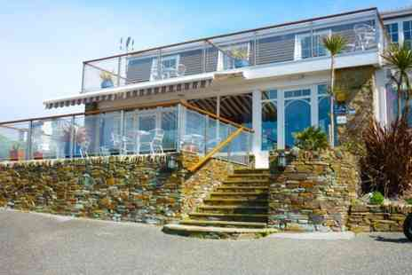 The Windward -  One Night stay For One With Afternoon Tea in Newquay - Save 55%