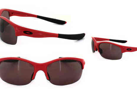 Discounted Sunglasses - Oakley Commit SQ Polarised Shortcake Sunglasses - Save 50%