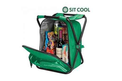 Jazzy Deals - 3 in 1 Sit Cool Folding Chair, Cool Bag & Rucksack - Save 48%
