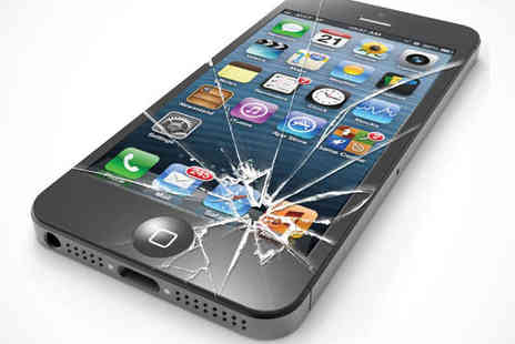 Phone Giant - Screen Repair Service for iPhone 5 or iPad 2  - Save 51%