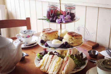 The Crosby Tea Rooms - Luxury Cream Tea for Two  - Save 50%