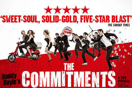 Theatre People - Overnight Central London Hotel Stay with Tickets The Commitments at The Palace Theatre - Save 50%