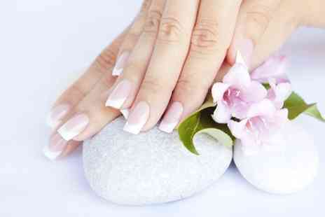 Tip to Toe at Sculpture Hair & Beauty - Gel Mani or Pedi  - Save 51%