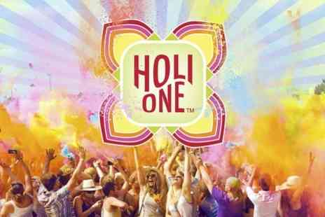 Holi One - Fast Track Entry to Glasgow HOLI ONE Colour Festival - Save 51%