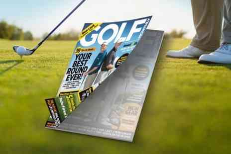 IPC Media - 12 Month Subscription to Golf Monthly Magazine - Save 51%