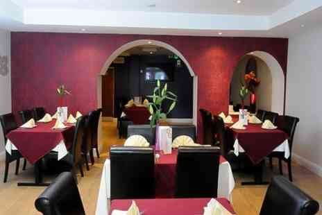 Masala - Indian Meal With Wine For Two  - Save 57%