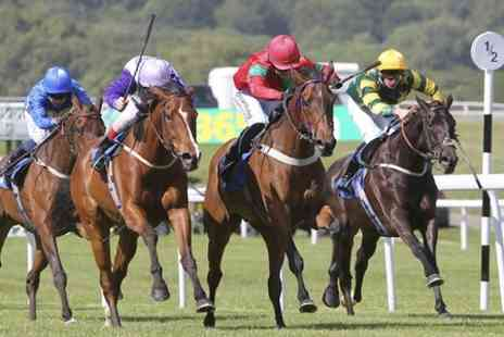 Chepstow racecourse - Entry to Chepstow Racecourse and Drink  - Save 47%
