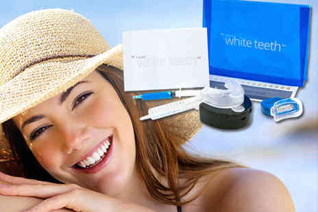 I Want White Teeth - Nine Piece Home Teeth Whitening Kit  - Save 84%