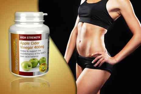 Pinnacle Health - One year supply of apple cider vinegar supplements - Save 67%