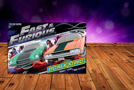 Hornby Hobbies -  Fast and Furious Scalextric set  - Save 46%