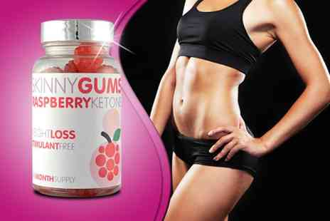 GB Supplement -  60 raspberry ketone skinny gums - Save 77%