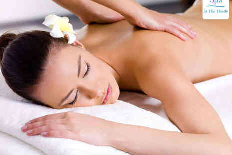 Thistle Glasgow Hotel - Express Facial, Back Neck and Shoulder Massage, Scalp Massage, and Floral Tea - Save 63%
