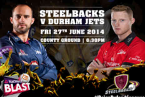 Northants Cricket - Tickets to Northants Steelbacks v Durham Jets Twenty20 Cricket Match - Save 38%