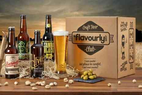 Flavourly.com - Flavourly Craft Beer and Snack Box  - Save 73%
