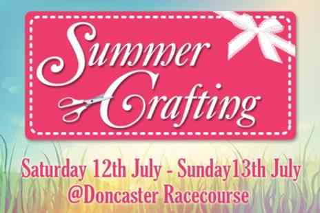 Summer Crafting -  Afternoon Entry For Two Adults  - Save 50%