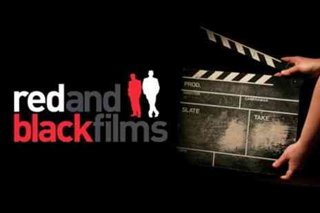 Inside Edge, Red & Black Films - £29 for One Day Introduction To Film-Making - Save 78%