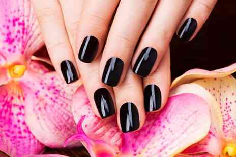 North Associates - Shellac manicure or pedicure with hand or foot massage - Save 60%