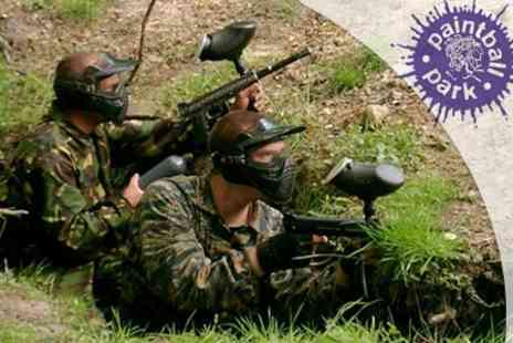 Paintball South - £2.99 Paintball With 100 Balls Plus Lunch - Save 80%