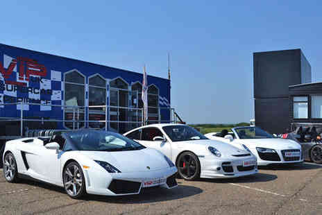 VIP Supercar Experience - Six Driven Laps - Save 51%