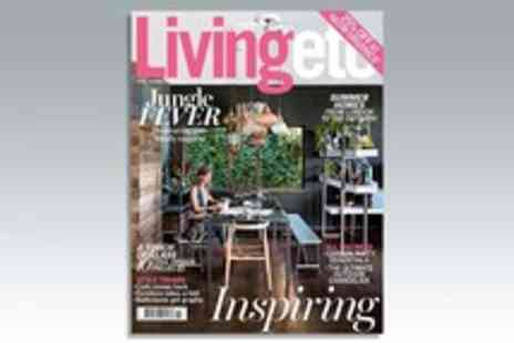 IPC Media - 12 Month Subscription to Livingetc Magazine - Save 8%