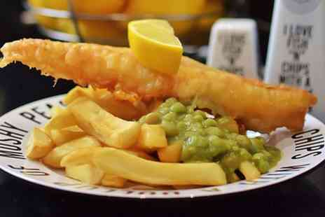Seafarers St Annes - Fish and Chips With Sides and Drink For Two - Save 46%