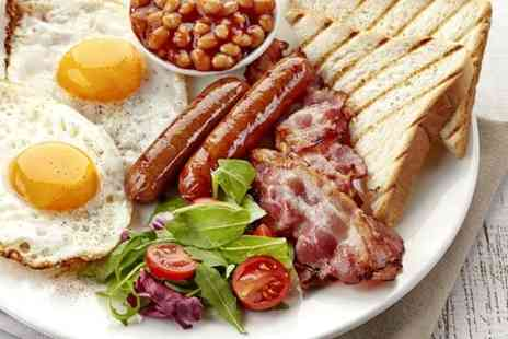The River Garden - Full English Breakfast For Two  - Save 66%