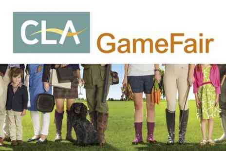 CLA Game Fair -  Afternoon Entry at CLA Game Fair - Save 50%