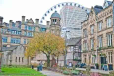 Britannia Hotel Manchester - One night Manchester city centre stay for 2 people with breakfasts & bottle of wine - Save 50%