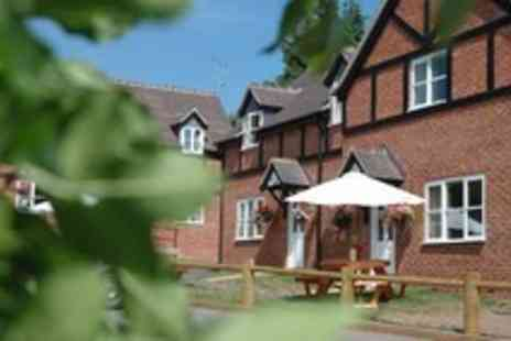 The Crown at Hopton - One night escape for 2 in Shropshire, with breakfast & a bottle of wine if you dine - Save 50%