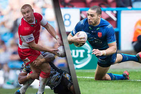 Hull KR - Two adult tickets to Hull KR vs Huddersfield Giants - Save 48%