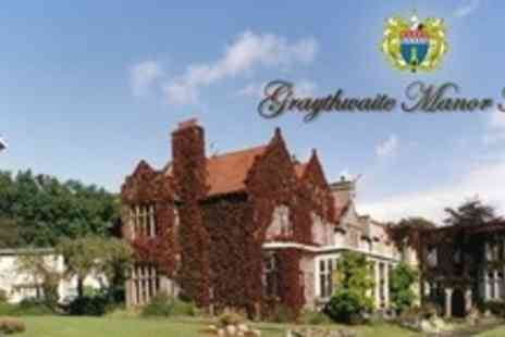 Graythwaite Manor - Two Night Stay For Two With Breakfast - Save 64%