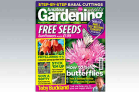 IPC Media - 51 Issue Subscription to Amateur Gardening Weekly Magazine - Save 15%