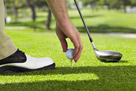 Redbourn Golf - Golf with Bacon Roll and Coffee - Save 55%