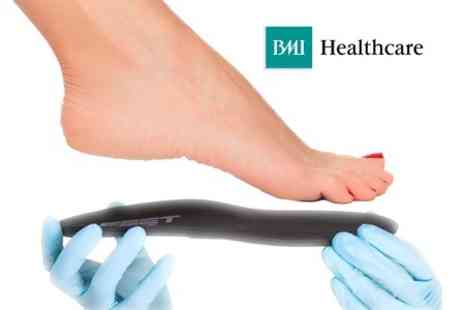 BMI Healthcare - Biomechanical Foot Assessment Plus Orthotics Insoles - Save 71%