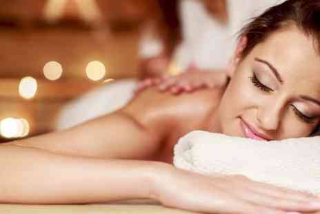 Diamond Look Salon - Body Wrap Plus Facial  - Save 68%