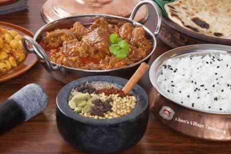 Khans Village Tandoori - Two Courses For Two  - Save 53%