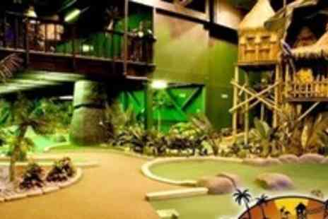 Paradise Island Adventure Golf - 18 Hole Round of Golf For Two - Save 64%