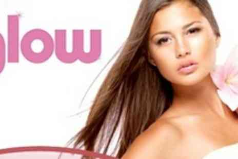 The Glow - Full Head Colour or Half Head Highlights With Cut and Blow Dry - Save 78%