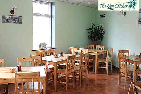 The Sea Catcher - Fish and Chips for Two  - Save 52%