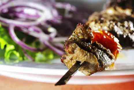 Cheminee Persian Restaurant -  Three Courses For Two With Tea  - Save 57%