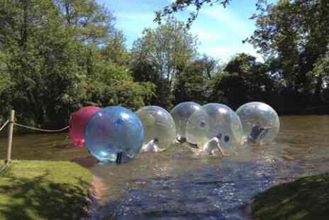 Pump it up Events - Summer Water Zorbing Experience - Save 50%