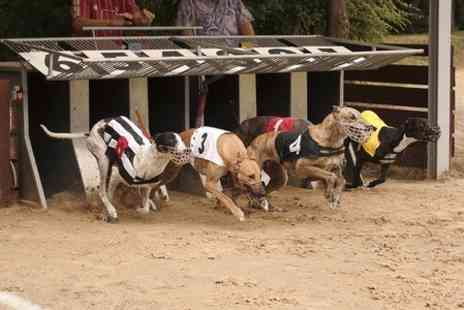 Kinsley Dogs - Greyhound Racing With Food Beer and Bet For Two - Save 61%