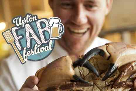 Fish Meadow - Entry to Upton Food and Beer Festival For Two  - Save 50%