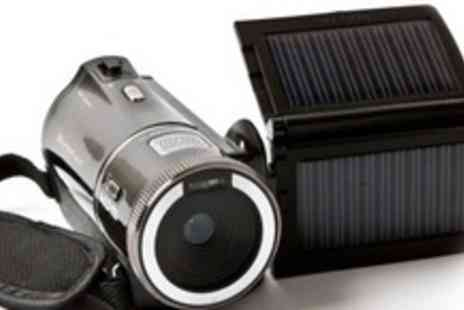Chilli Technology - Solar HD Camcorder - Save 53%