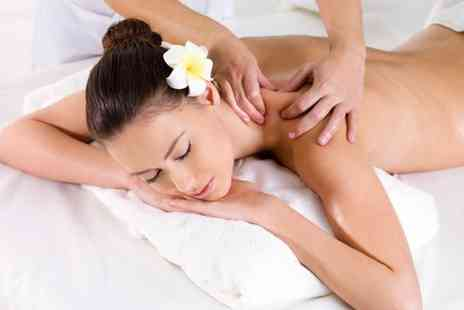 The Cottage Treatment - Full body hot stone, aromatherapy, Swedish or deep tissue massage - Save 55%